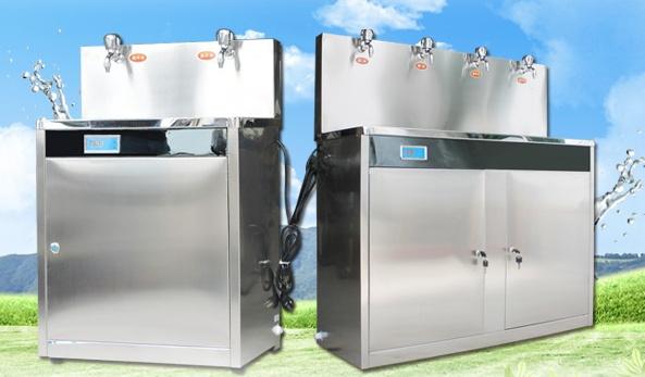 节能饮水机的工作原理是利用电能转化为热能加热开水